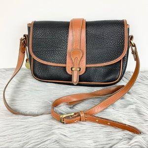 Vintage Dooney & Burke Equestrian Crossbody Bag